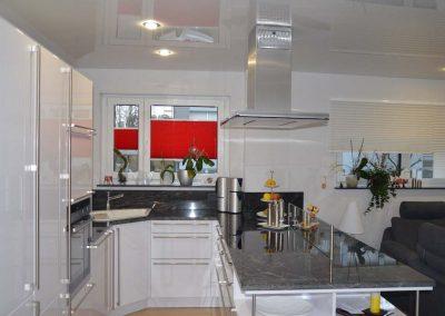 Hochglanz Spanndecke In Der Küche 2