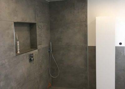 Top Badezimmer renovieren - Stil Spanndecken UN16