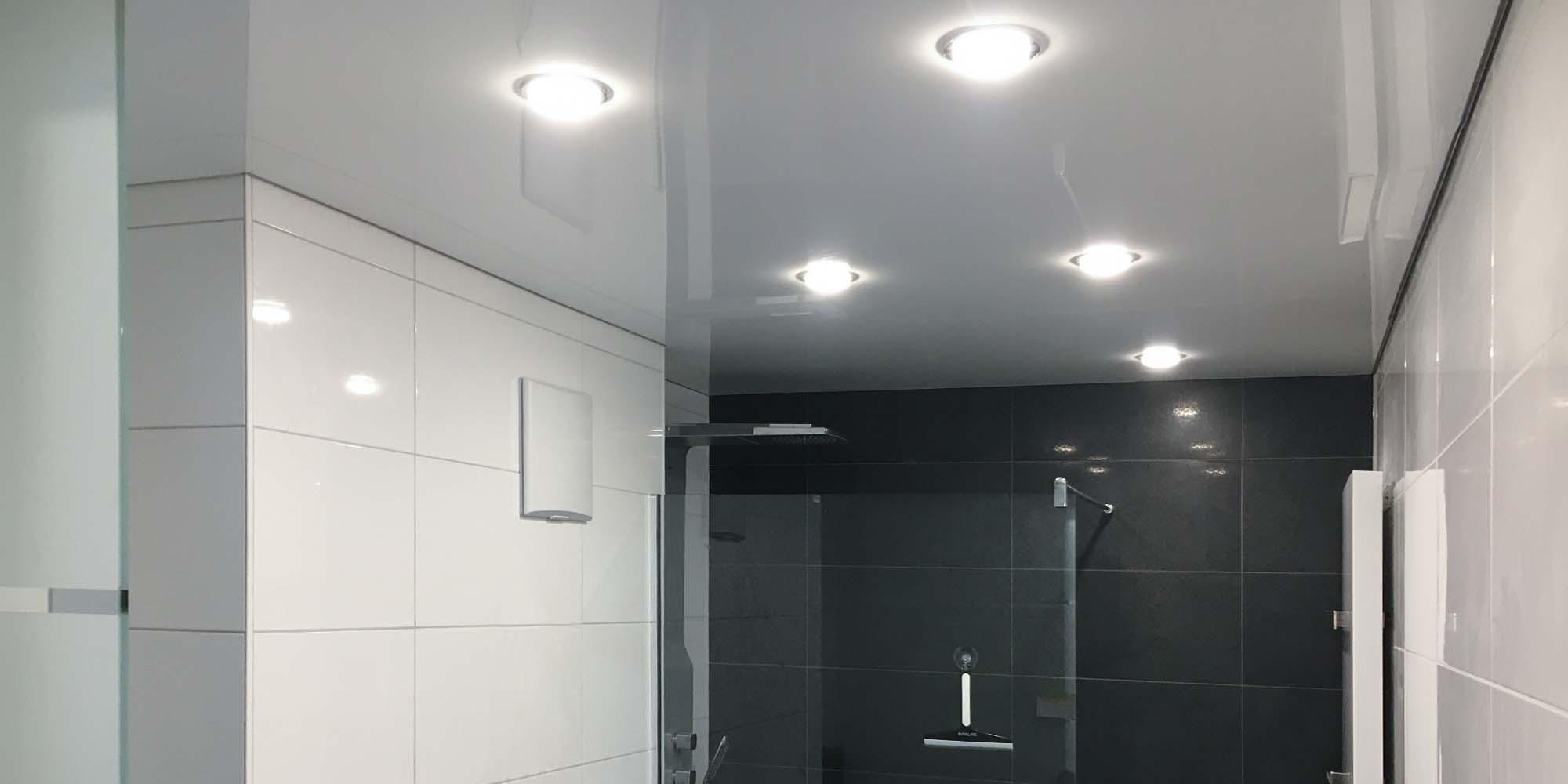 Bekannt Badezimmer renovieren - Stil Spanndecken OQ23